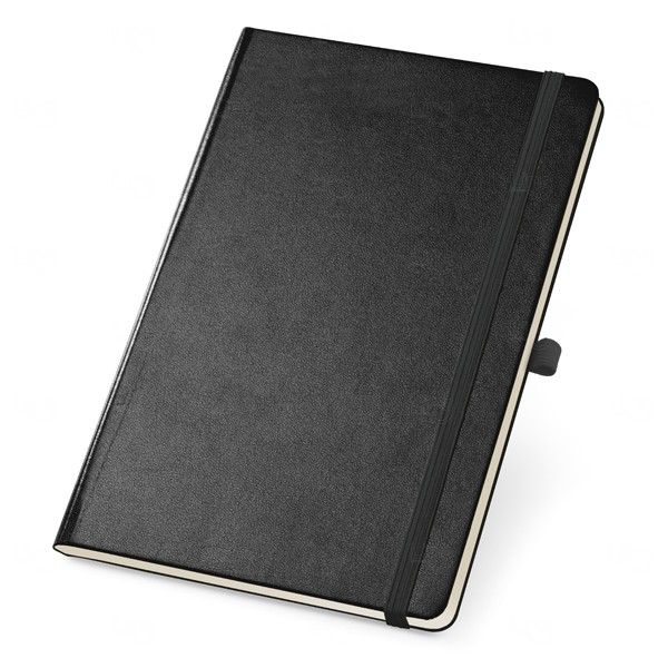 Caderno Capa Dura Personalizado Preto