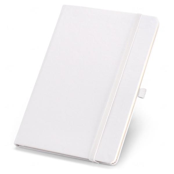 Caderno Capa Dura Personalizado Branco