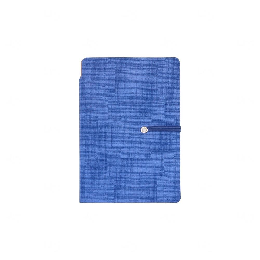 Bloco de Anotações com Autoadesivos Personalizado Azul