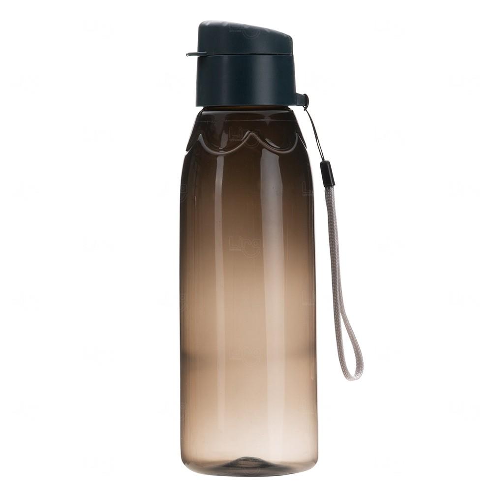 Garrafa Plástica Personalizada - 700 ml Preto