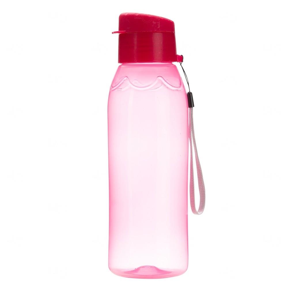 Garrafa Plástica Personalizada - 700 ml Rosa