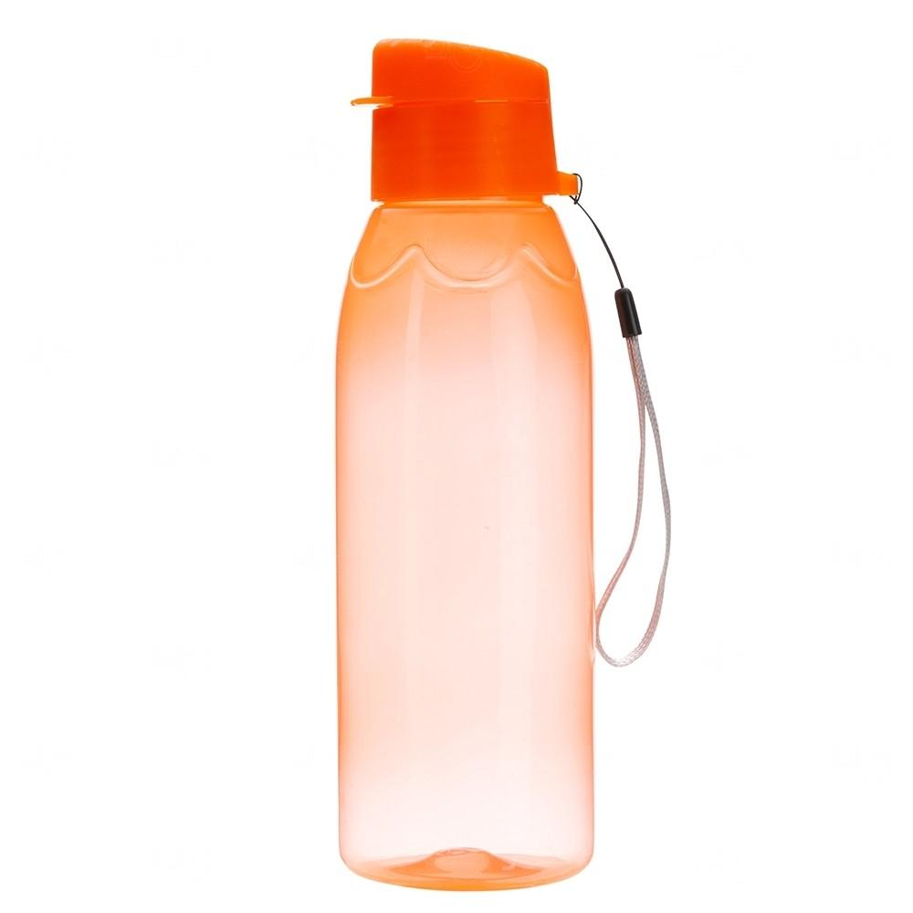 Garrafa Plástica Personalizada - 700 ml Laranja