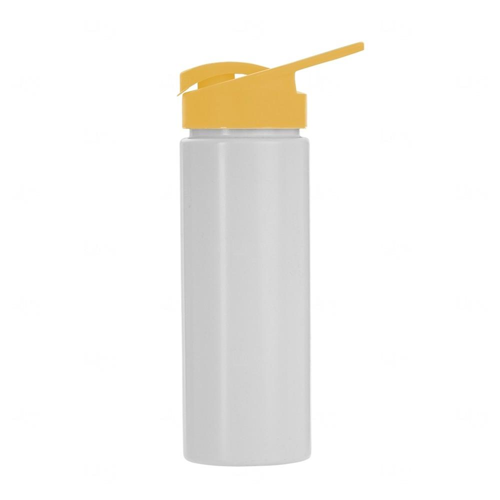 Squeeze Plástico Personalizado 550ml Amarelo