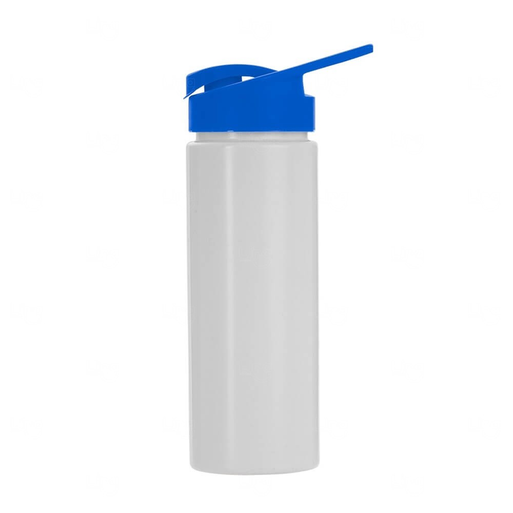 Squeeze Plástico Personalizado 550ml Azul