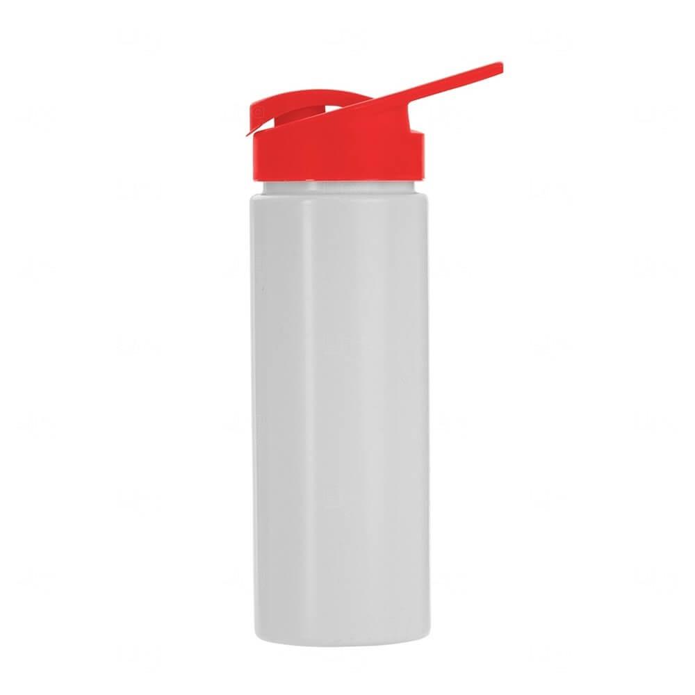 Squeeze Plástico Personalizado 550ml Vermelho