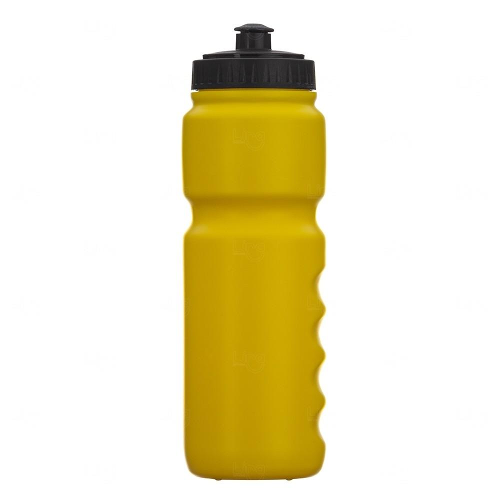 Squeeze Plástico Personalizado 850ml Amarelo
