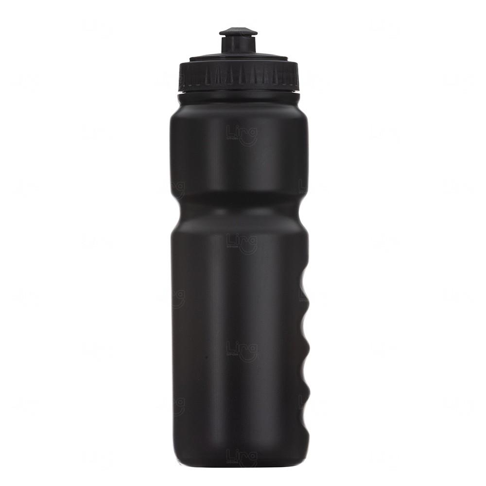 Squeeze Plástico Personalizado 850ml Preto