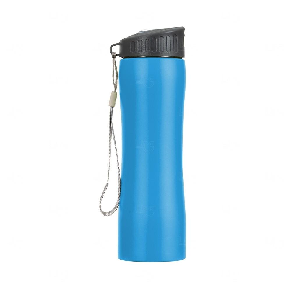 Squeeze Metal Personalizada - 600 ml Azul