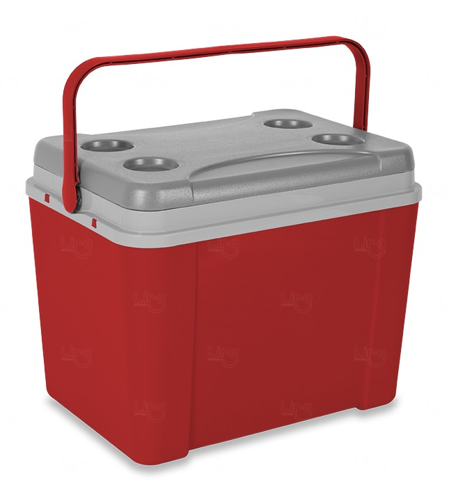Caixa Térmica Personalizada 34L Vermelho