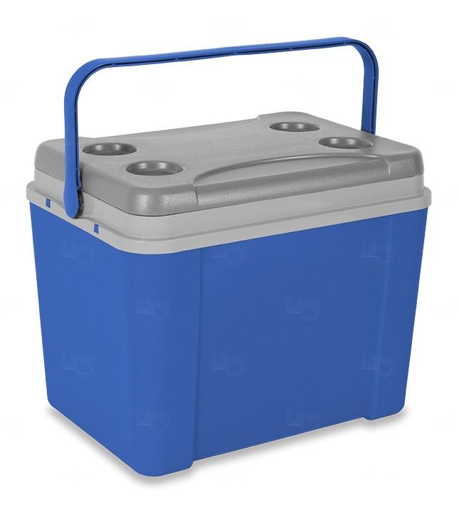 Caixa Térmica Personalizada 34L Azul