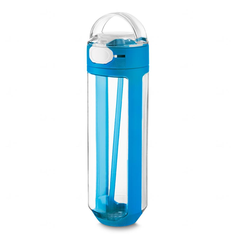 Garrafa Plástica Personalizada Azul