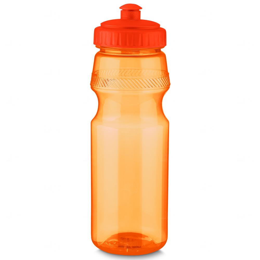 Squeeze Plástico Personalizado Laranja