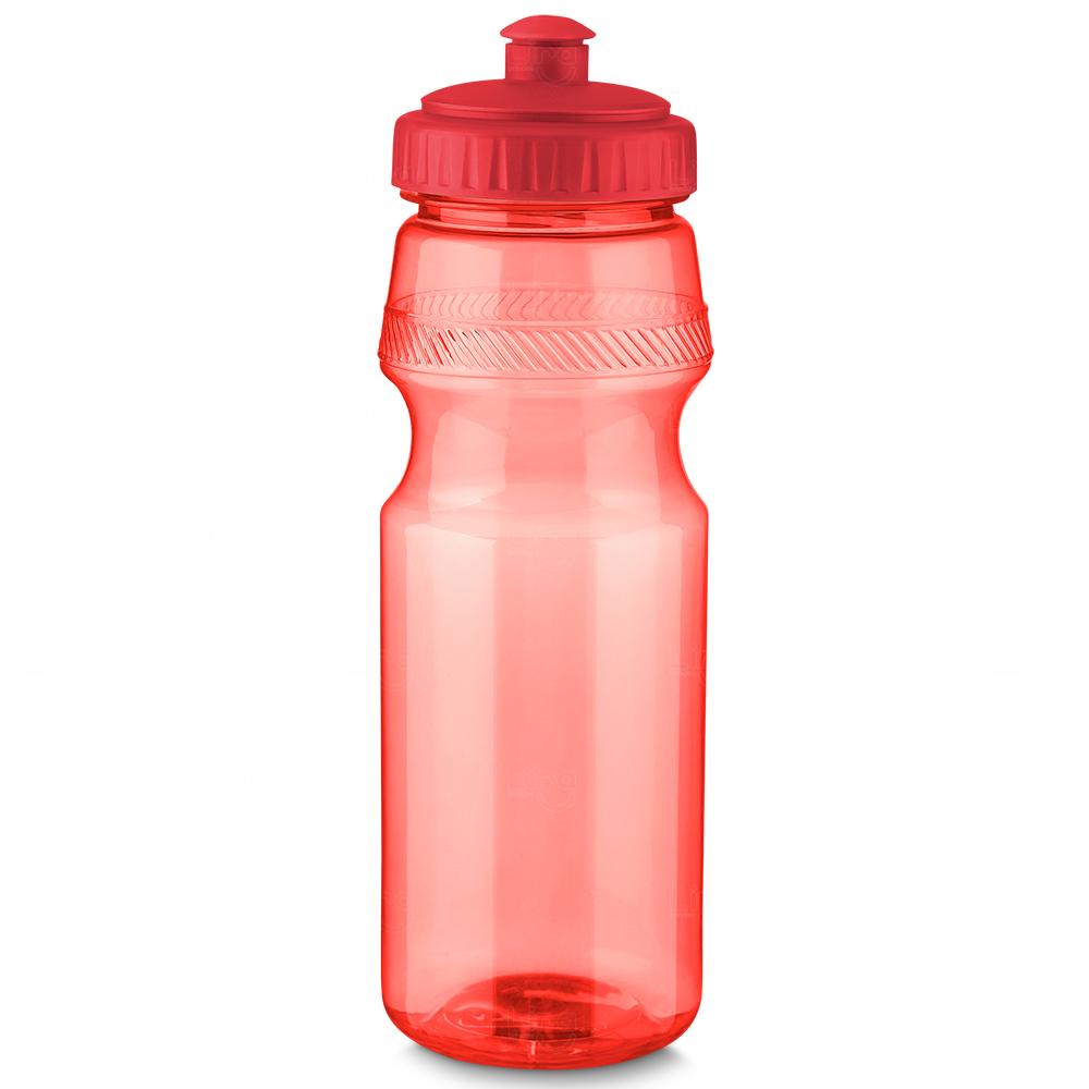 Squeeze Plástico Personalizado Vermelho