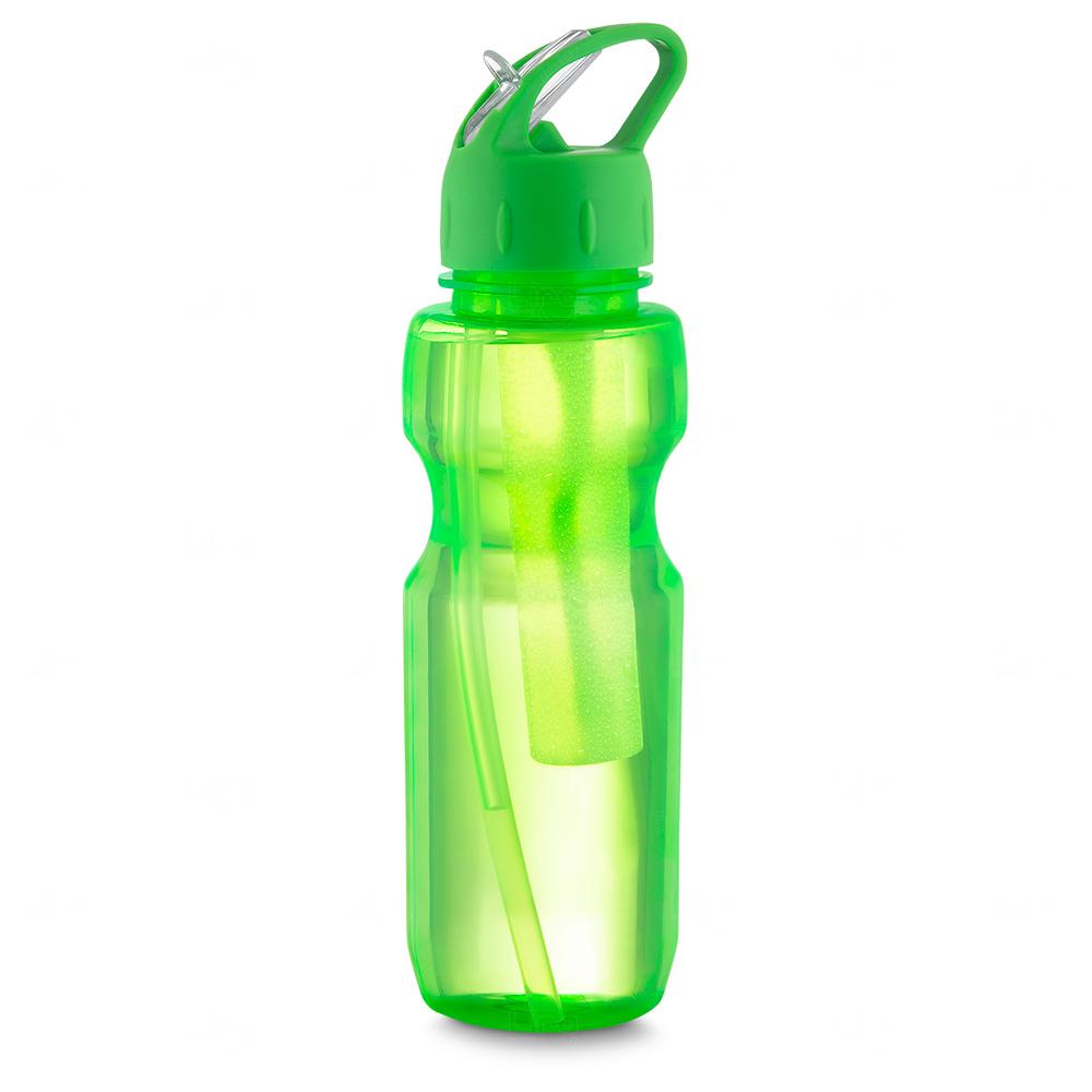 Garrafa Plástica Personalizada Verde