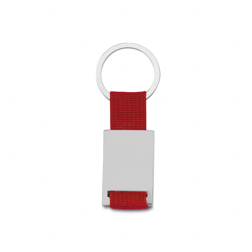 Chaveiro de Metal  Personalizado Vermelho