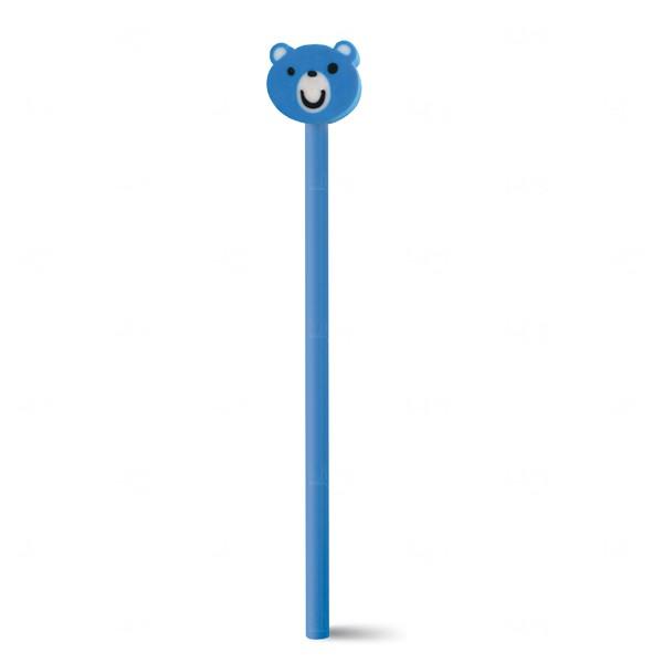 Lápis Colorido Personalizado Azul
