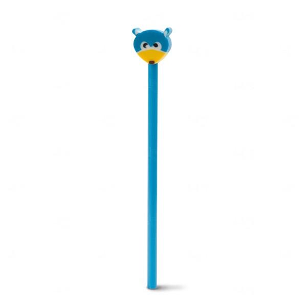 Lápis Colorido Personalizado Azul Claro