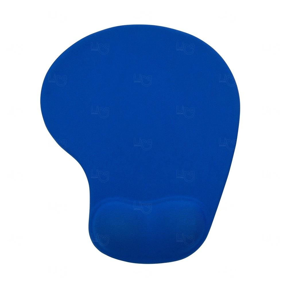 Mouse Pad Com Apoio De Silicone Personalizado Azul