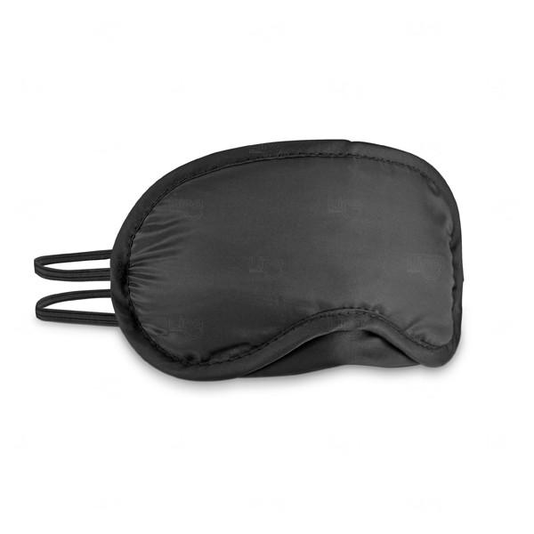Máscara De Dormir Personalizada Preto