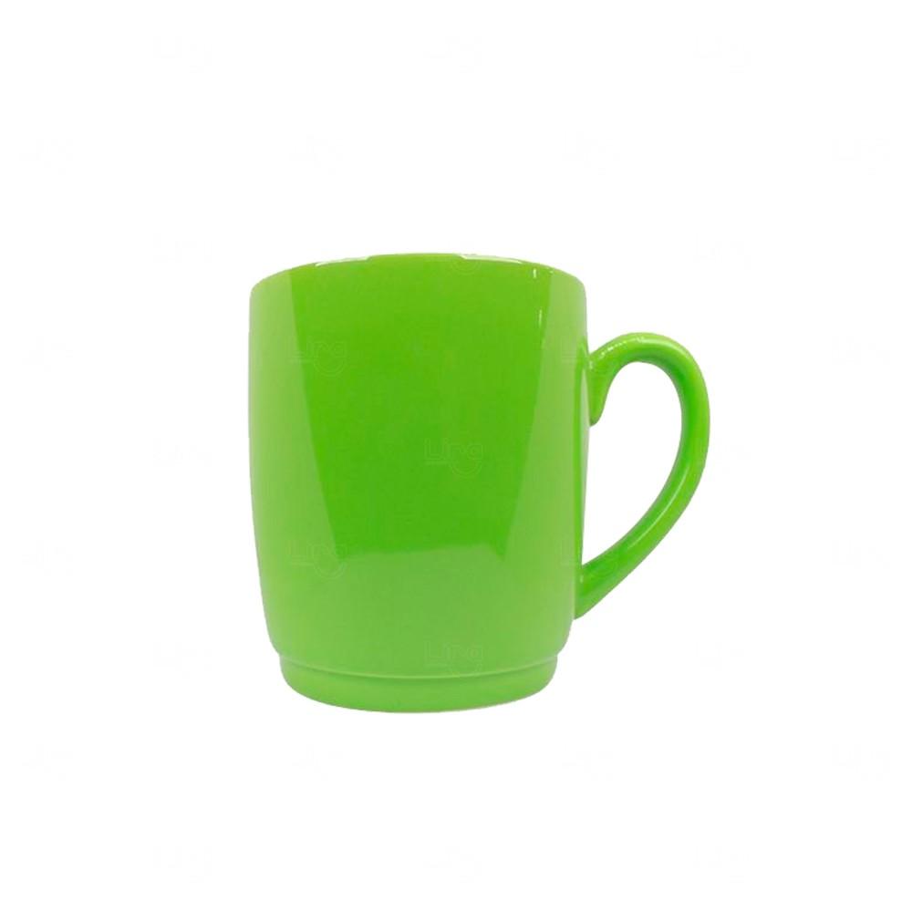 Caneca Cerâmica Color Personalizada Verde