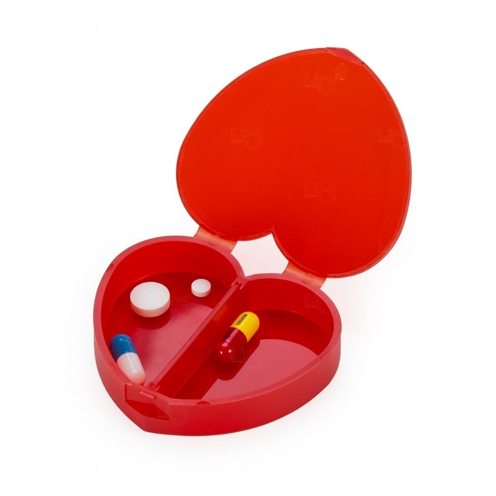 Porta Comprimidos Coração Personalizado