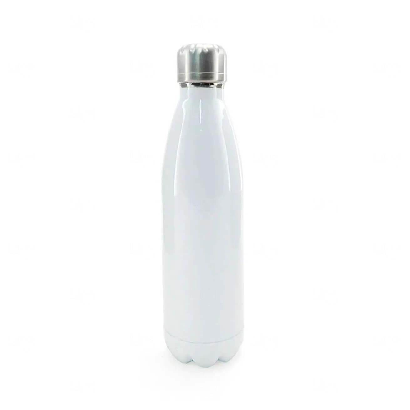 Garrafa Inox Personalizada - 500 ml Branco