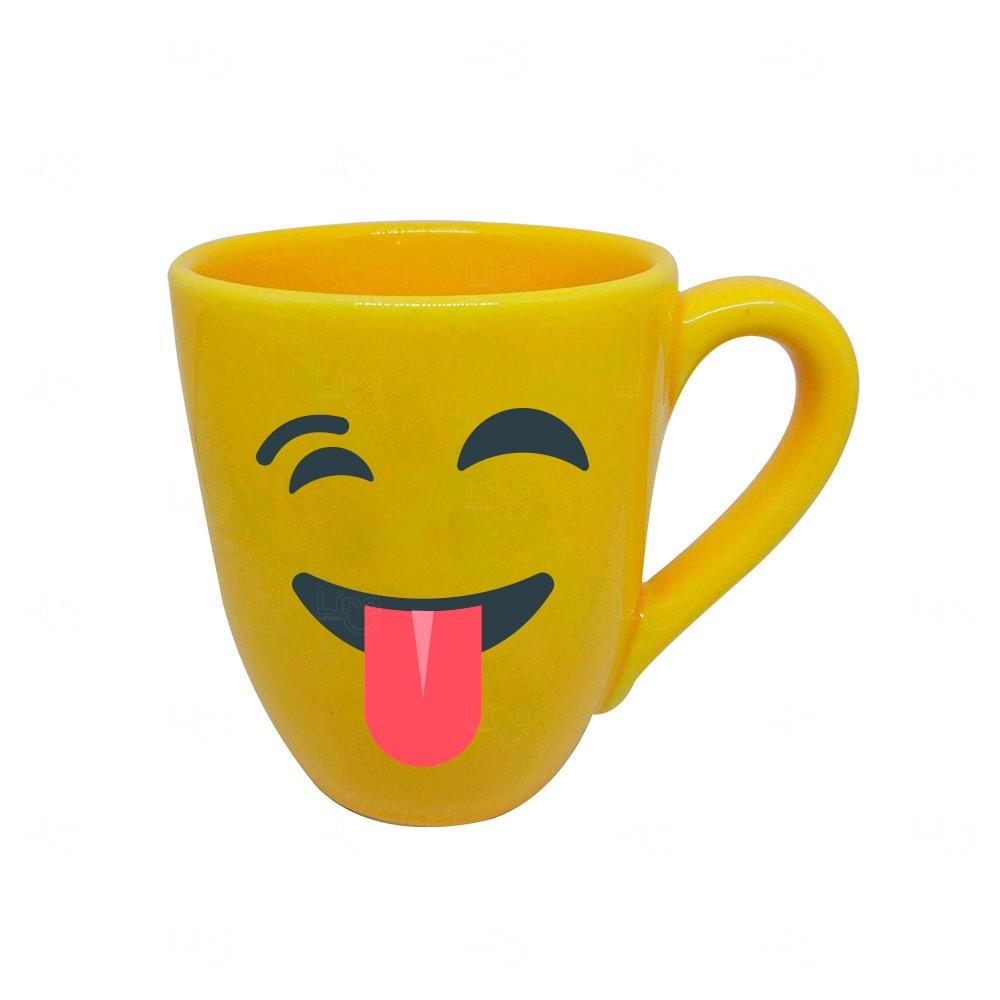 Caneca Emoji Personalizado - 325 ml