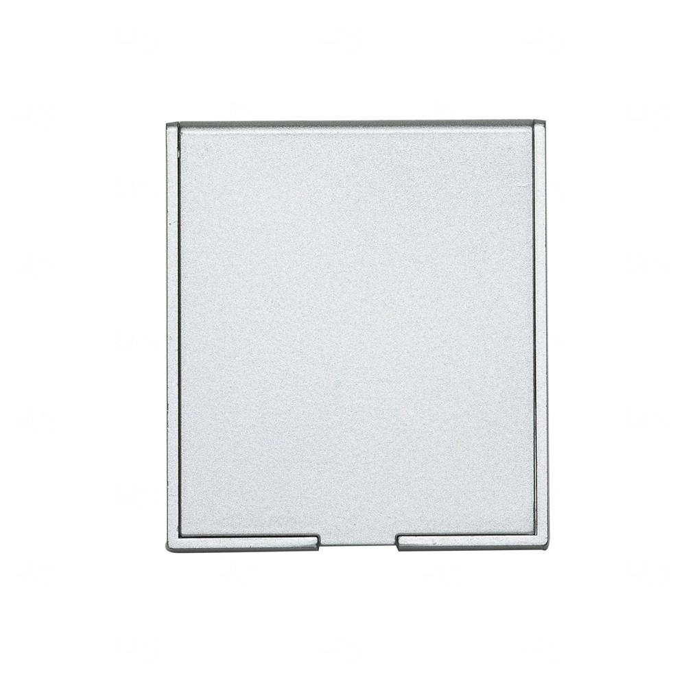 Espelho de Bolso Personalizado Prata