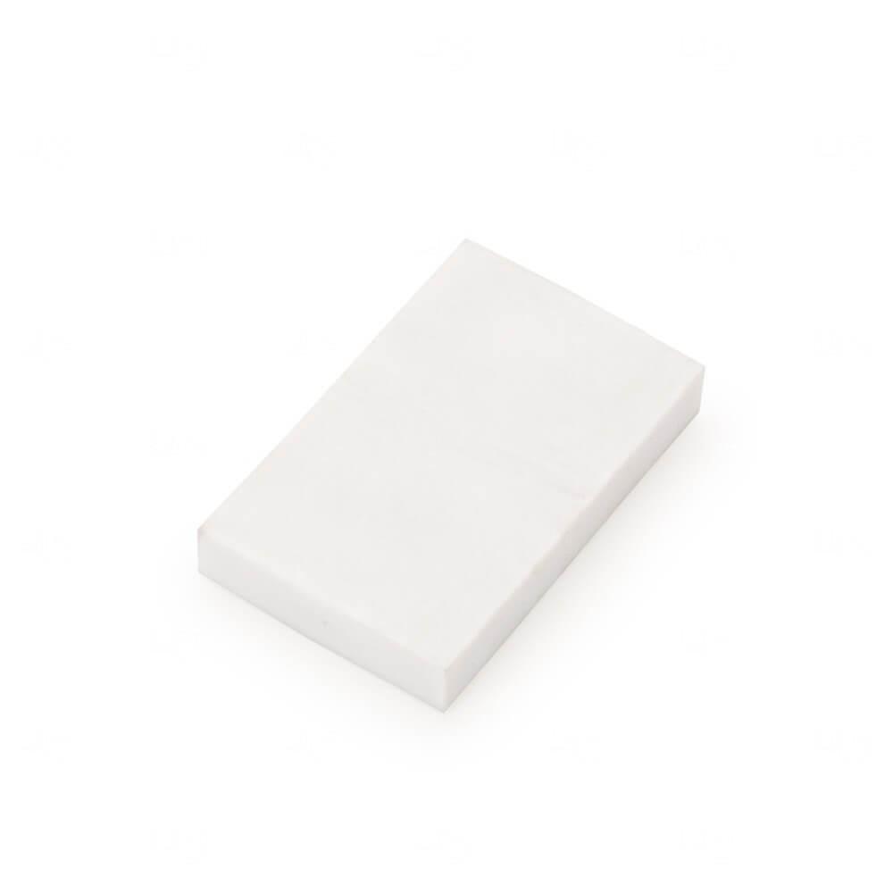 Borracha Personalizada Branco