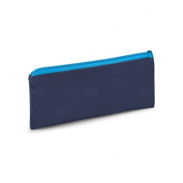 Estojo Colorido Personalizado Azul Marinho