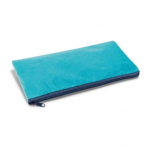 Estojo Colorido Personalizado Azul Claro