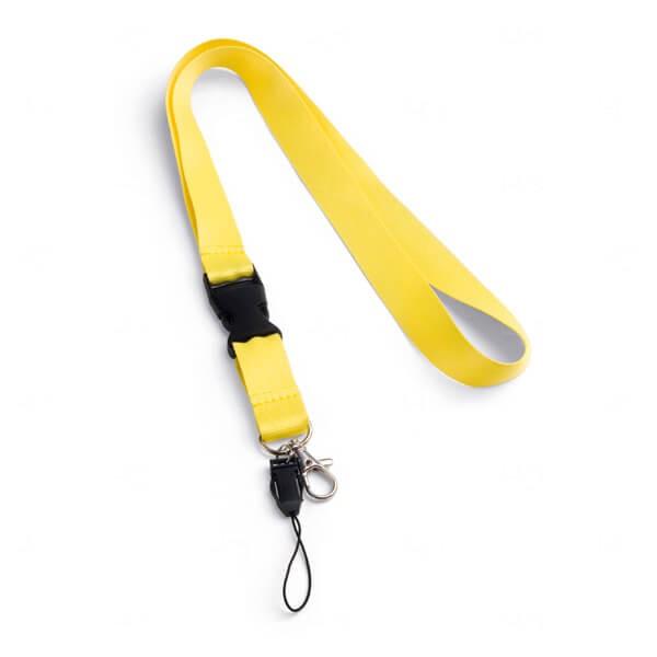 Cordão Personalizado Amarelo