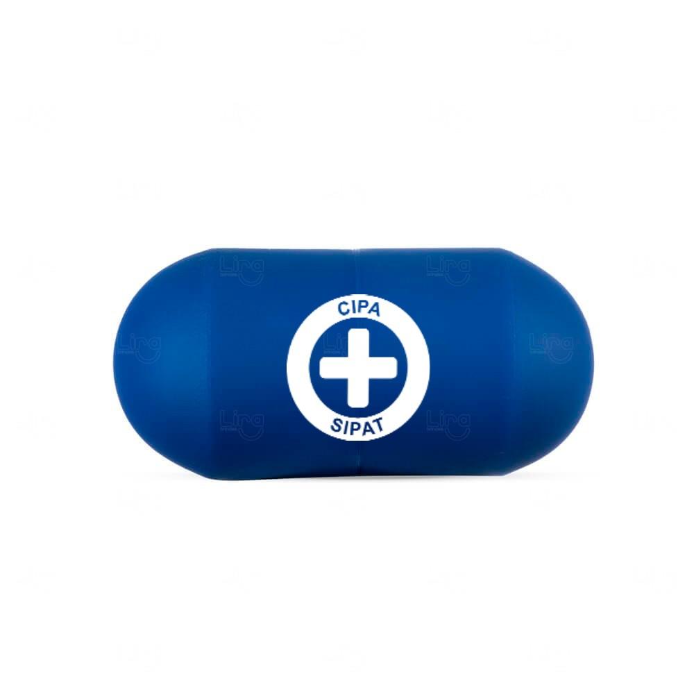 Capsula Anti Stress Personalizada Azul
