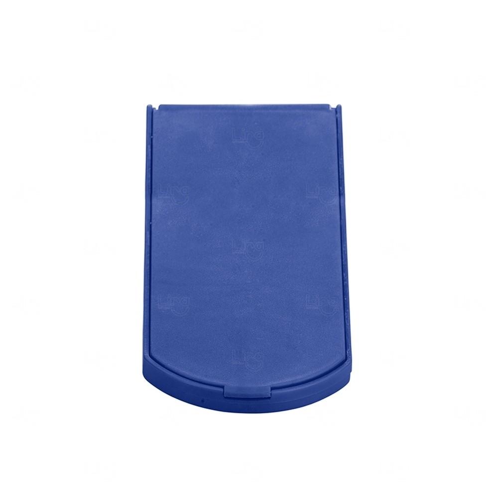 Espelho De Bolso Personalizado Azul