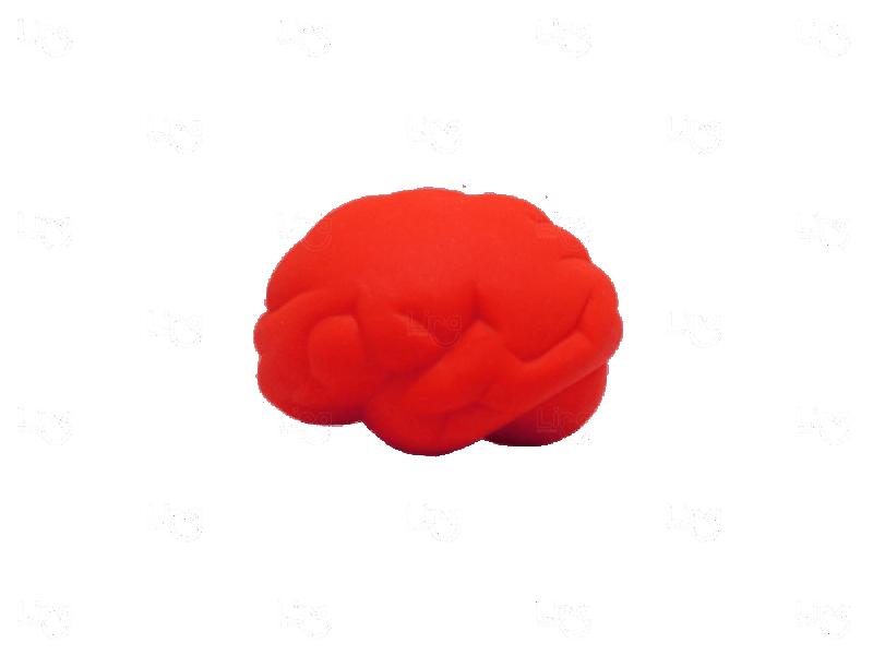 Cérebro Anti Stress Personalizado Vermelho