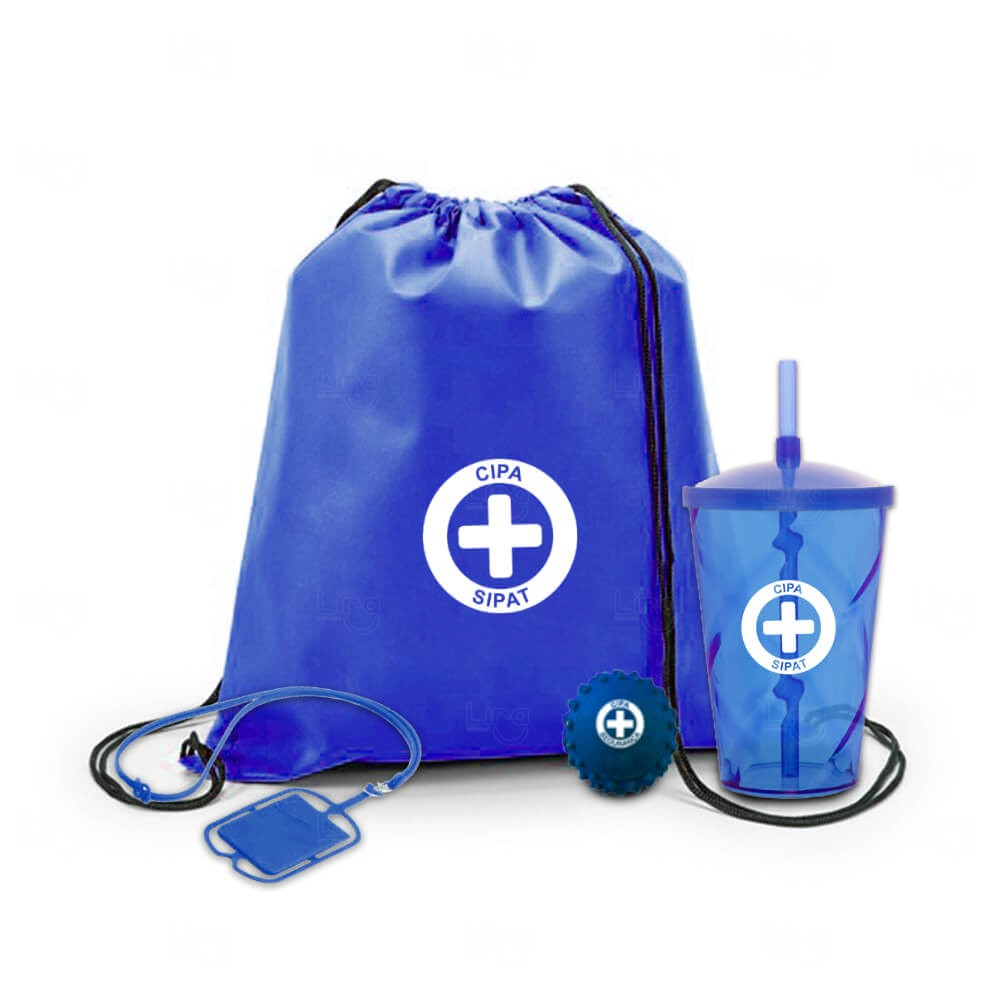 Kit Básico Personalizado Azul