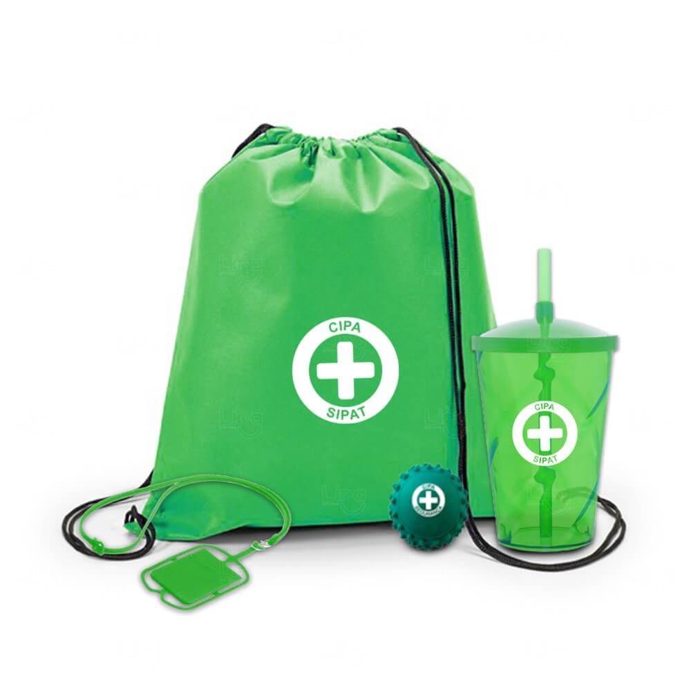 Kit Básico Personalizado Verde