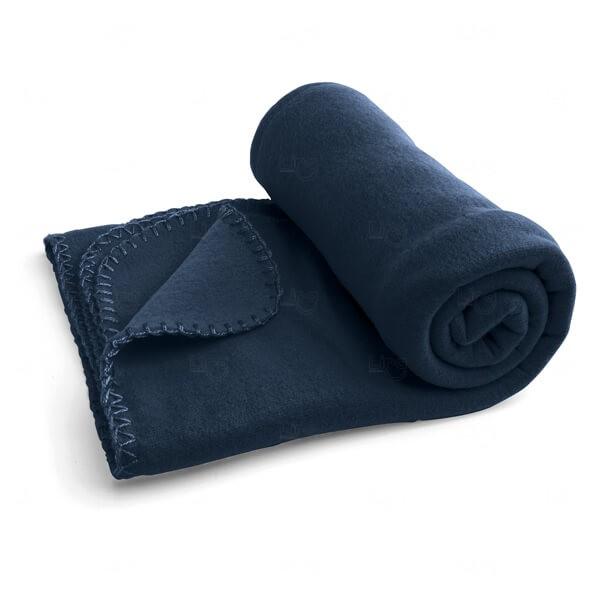 Manta Personalizada Azul Marinho