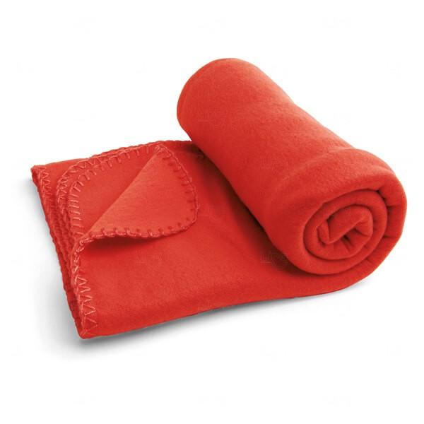 Manta Personalizada Vermelho