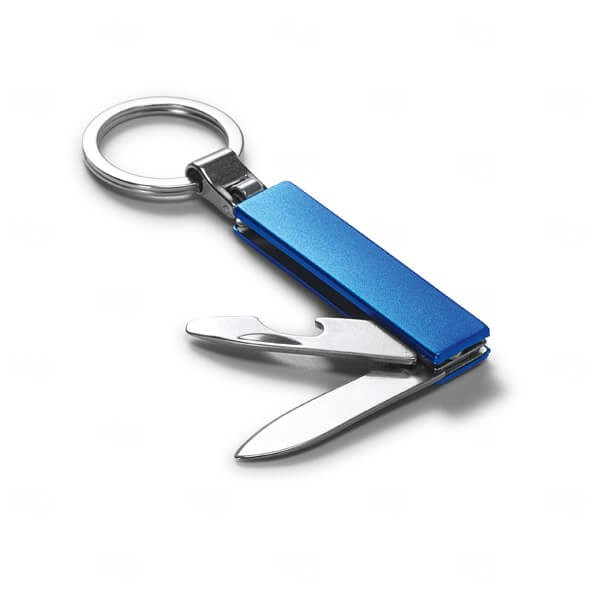 Chaveiro Metal Personalizado Azul