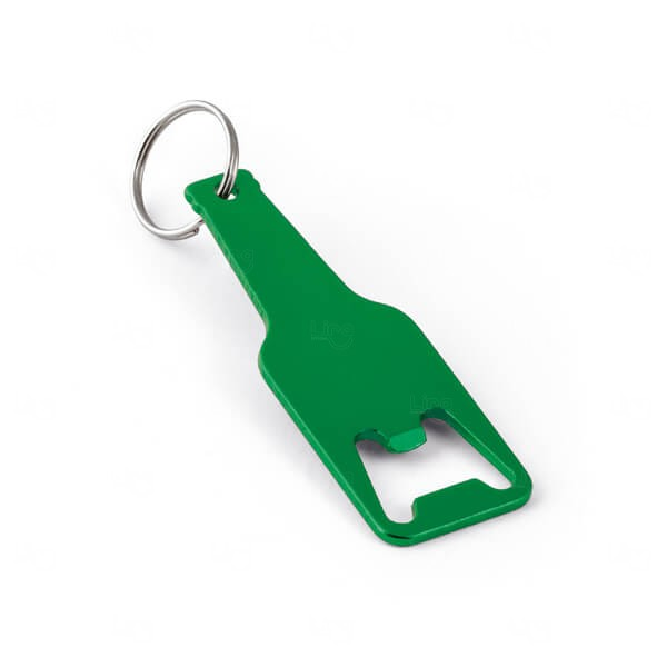 Chaveiro De Alumínio Personalizado Verde