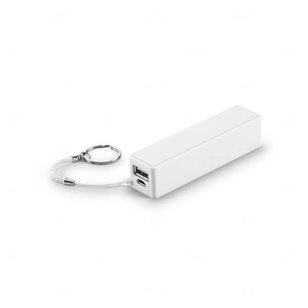 Power Bank Personalizado - 1.800 mAh Branco