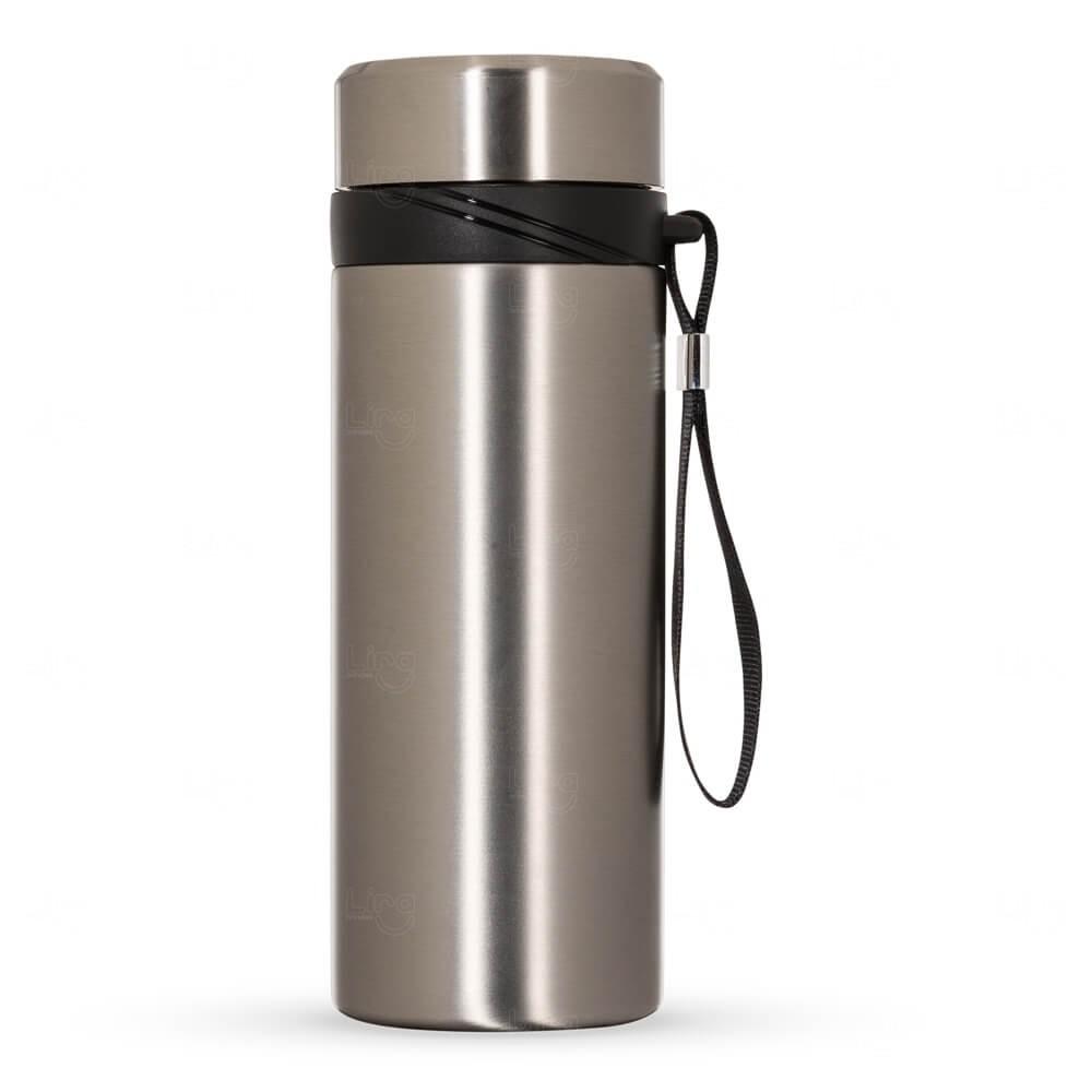 Garrafa Térmica Inox Personalizada - 590 ml Inox