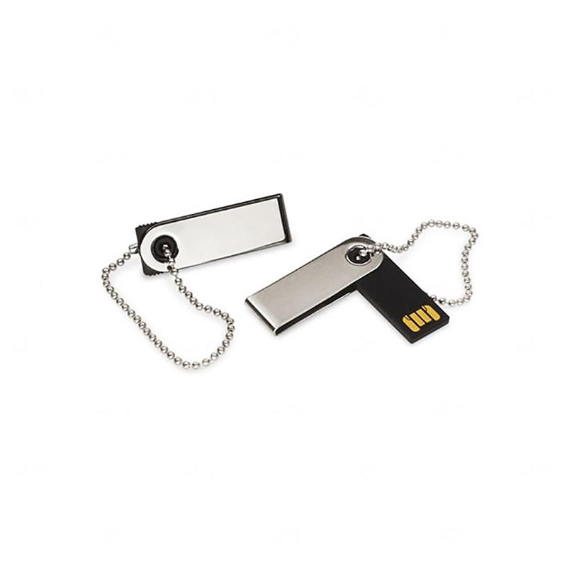 Mini Pen Drive Giratório Personalizado - 4gb