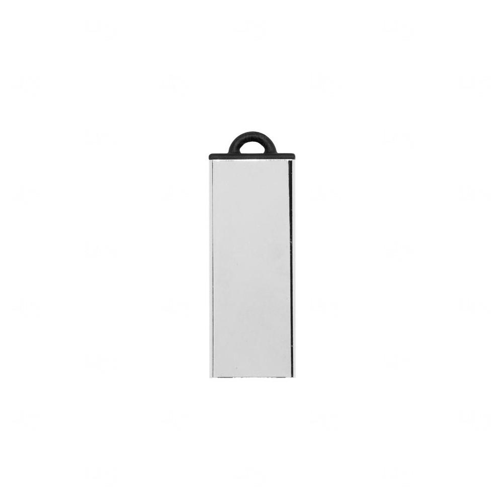 Pen Drive Metal com Argola de Plástico Personalizado - 4GB