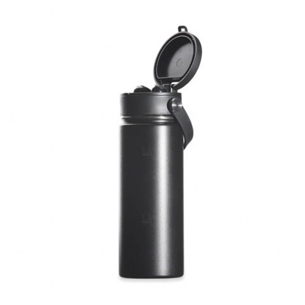 Squeeze Térmica de Inox com Earbuds Personalizada – 500ml