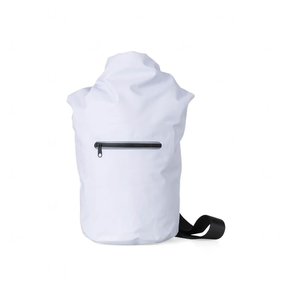 Sacochila à Prova D'Água Personalizada Branco
