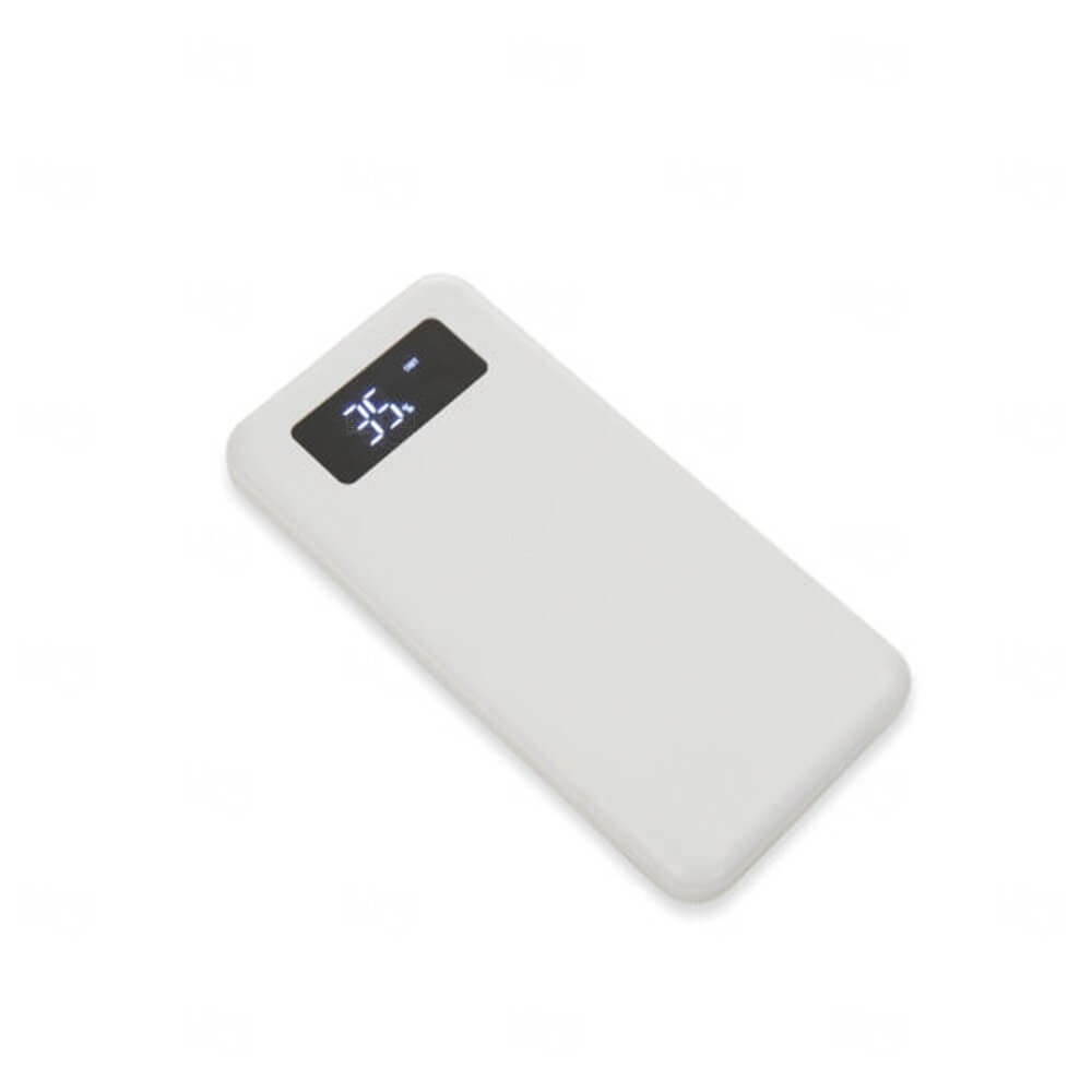 Power Bank Personalizado - 10.000mAh Branco