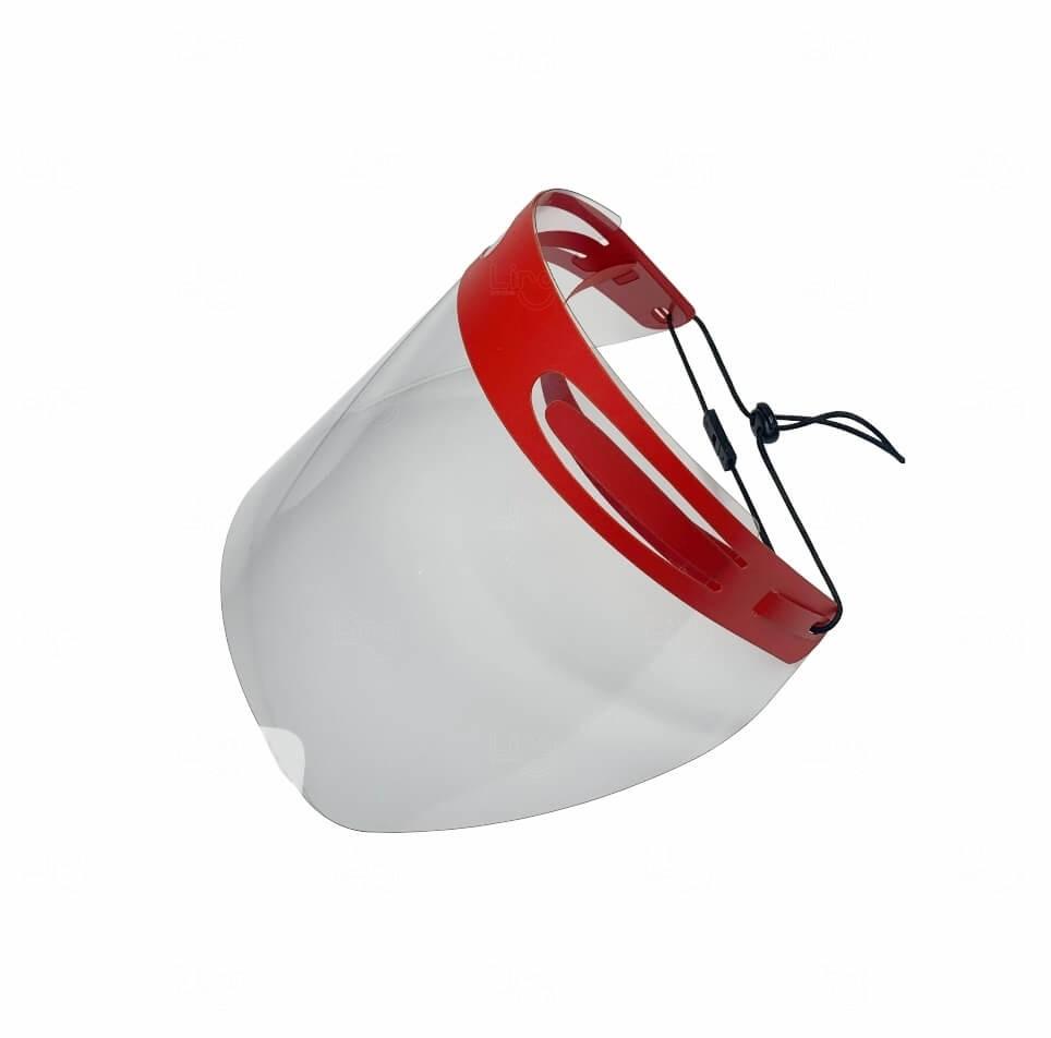 Protetor Facial Personalizado Vermelho