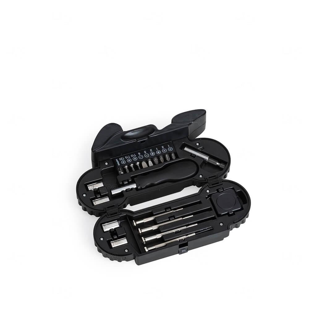 Kit Ferramenta Moto Personalizado C/ Lanterna - 21 Peças